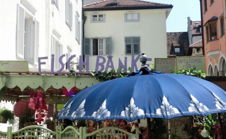 Fischbänke Bolzano
