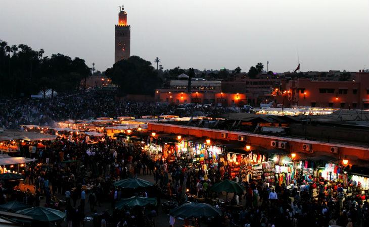 Marocco_Marrakech_Piazza_Jemaa el Fna