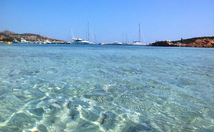 spiaggia dei 2 mari Caprera