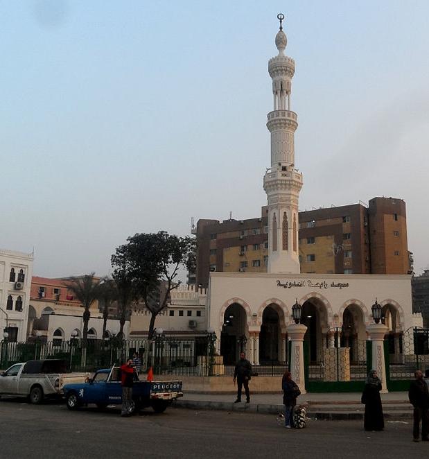 Il Cairo, Egitto - Moschea di Rabaa Al-Adawiya