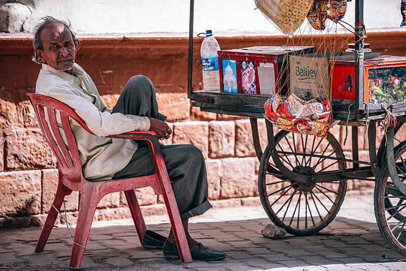 viaggio in india street food