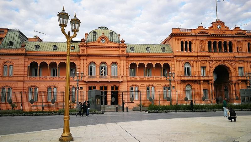 Viaggio a Buenos Aires Casa Rosada