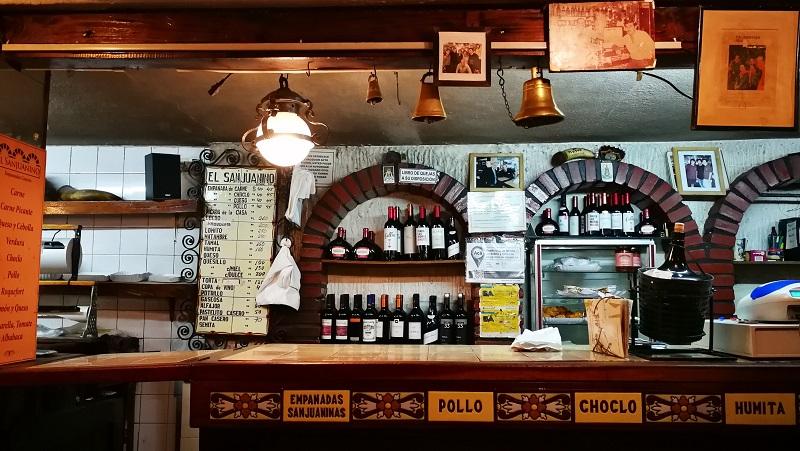 Viaggio a Buenos Aires El San Juanino empanadas