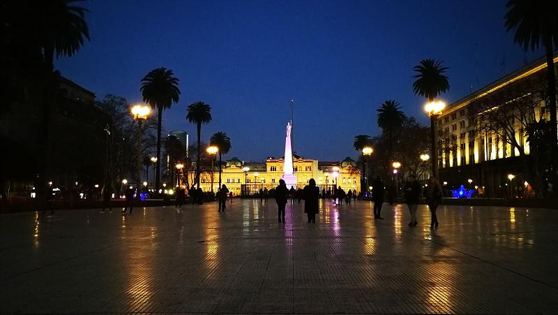 Viaggio a Buenos Aires Plaza De Mayo