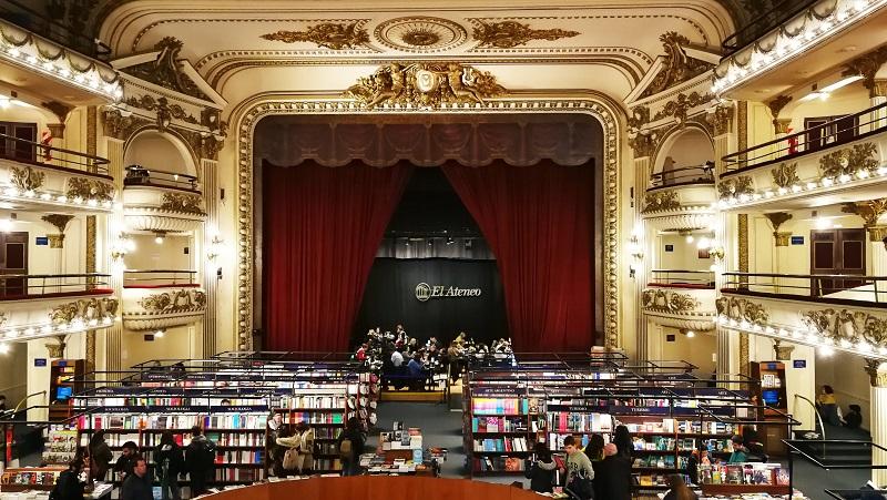 Viaggio a Buenos Aires libreria El Ateneo