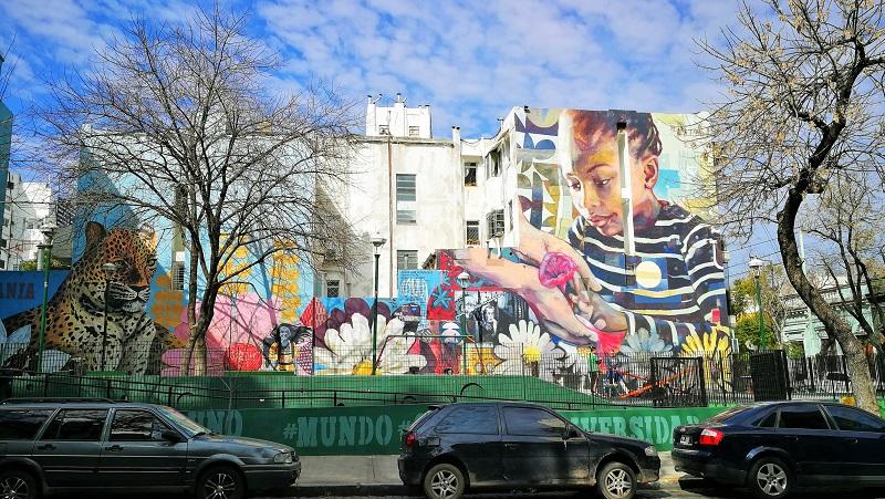 Viaggio a Buenos Aires street art Palermo