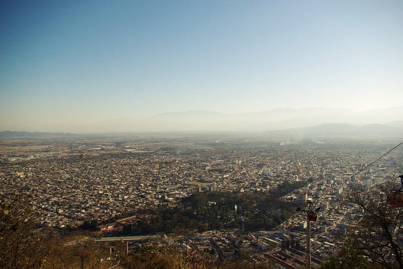 Salta_Teleferico San Bernardo